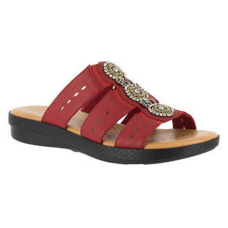 Easy Street Shoes Womens Nori Slide Sandals