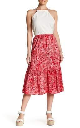 Joe Fresh Paisley Midi Skirt $34 thestylecure.com