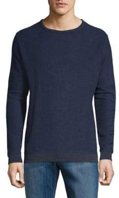 Long-Sleeve French Terry Pullover