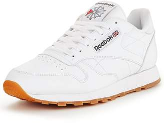 d533a8e2075 Reebok Classic Leather Mens Trainers - ShopStyle UK