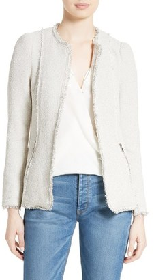 Women's Rebecca Taylor Stretch Tweed Jacket $525 thestylecure.com