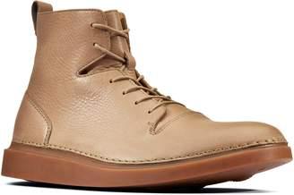 Clarks R) Hale Rise Plain Toe Boot