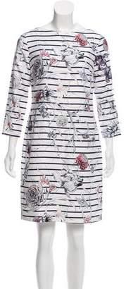Marchesa Voyage Floral Mini Dress w/ Tags