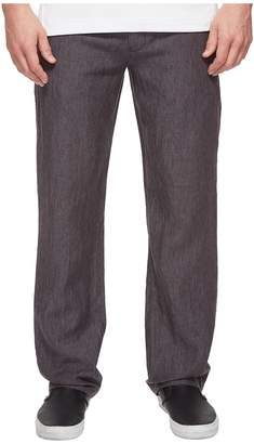 Perry Ellis Drawstring Linen Pants Men's Casual Pants