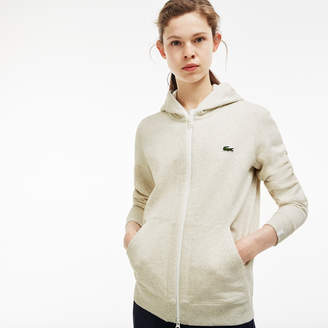 Lacoste Unisex LIVE Hooded Zippered Cotton Sweatshirt