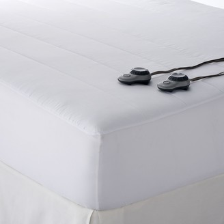 Sunbeam Slumber Rest Quilted Electric Mattress Pad