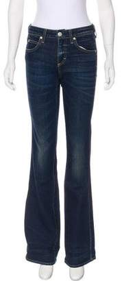 Amo Kick Flare Mid-Rise Jeans