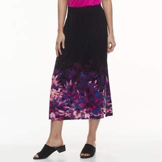 Dana Buchman Petite Slit Maxi Skirt