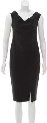 Chiara Boni Sleeveless Knee-Length Dress