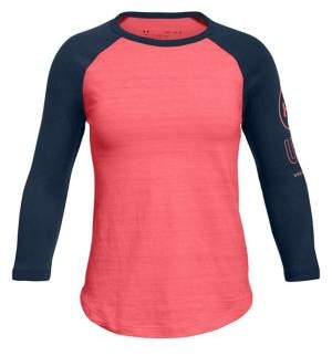 Under Armour Girl's Huddle-Up Long-Sleeve Top