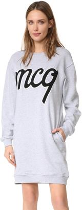 McQ - Alexander McQueen Classic Sweatshirt Dress $360 thestylecure.com