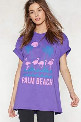Nasty Gal Palm Beach Relaxed Tee