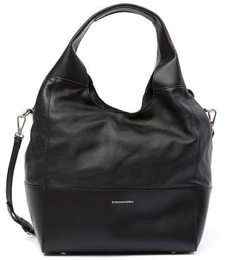 BCBGMAXAZRIA Myla Leather Hobo Bag