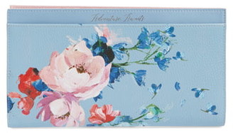 Ted Baker Raspberry Ripple Leather Travel Wallet