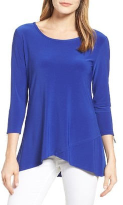 Women's Chaus Zip Detail Top $59 thestylecure.com
