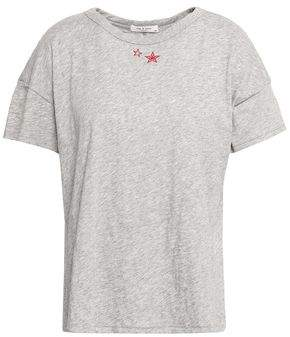 Rag & Bone Embroidered Pima Cotton-jersey T-shirt