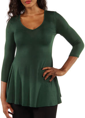24/7 Comfort Apparel Sublime Tunic Top