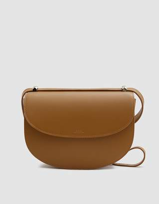 A.P.C. Geneve Shoulder Bag in Camel