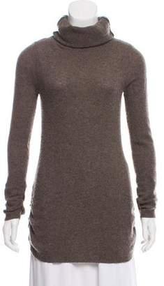 Aqua Cashmere Rib-Knit Sweater