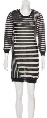 3.1 Phillip Lim Wool-Blend Striped Dress