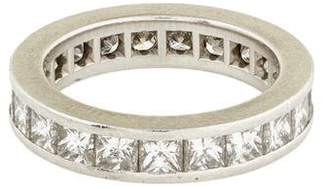 Kwiat Platinum & Diamond Eternity Wedding Ring