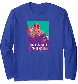 +Hotel by K-bros&Co Miami Vice Pastel Hotel Long Sleeved T-Shirt