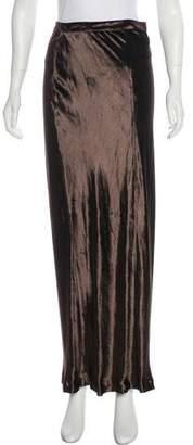 Alexander Wang Velvet Maxi Skirt