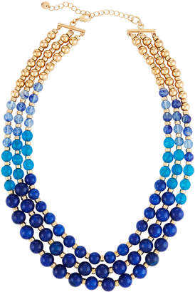 Lydell NYC Multi-Row Graduated Bead Necklace