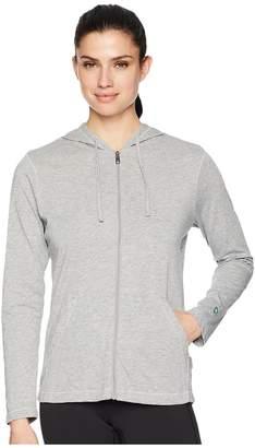 White Sierra Bug Free Jersey Full Zip Hoodie Women's Sweatshirt
