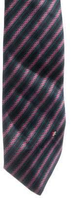 Fendi Striped Silk Tie