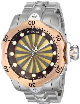 Invicta Men's 14604 Venom Analog Display Swiss Quartz Silver Watch