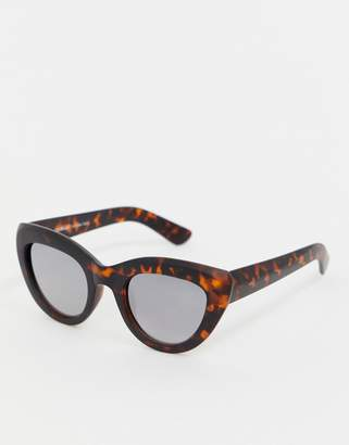 A. J. Morgan Aj Morgan AJ Morgan tort cat eye sunglasses