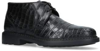 Brotini Crocodile Skin Boots