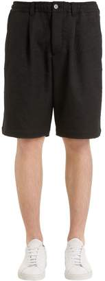 Marni Lined Shorts W/ Elastic Waistband