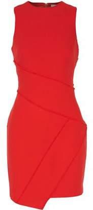 Cinq à Sept Josie Fringed Stretch-Cady Mini Dress