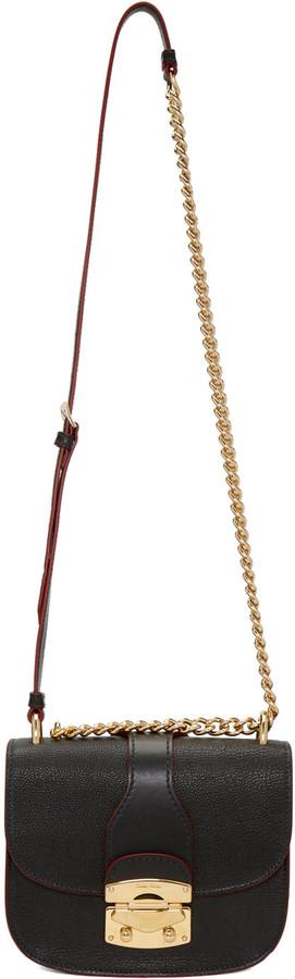 Miu MiuMiu Miu Black Classic Lock & Chain Bag