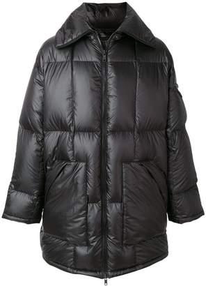 Prada shoulder strap padded coat