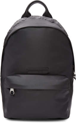 McQ Black Faux-Leather Classic Backpack