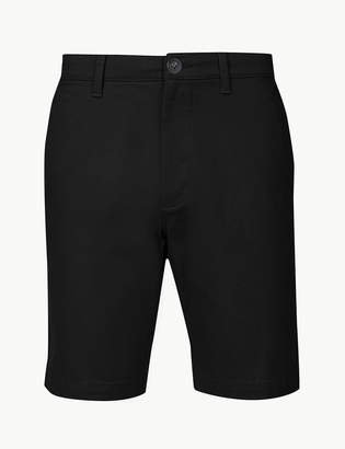 6f16da672e3 M S CollectionMarks and Spencer Cotton Rich Chino Shorts with Stretch