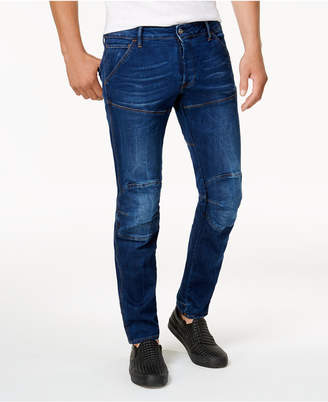 G Star Men's 5620 Deconstructed Tapered Fit Stretch Jeans