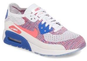 Women's Nike Air Max 90 Flyknit Ultra 2.0 Sneaker $160 thestylecure.com