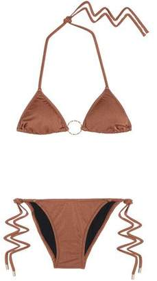 Melissa Odabash Miami Metallic Triangle Bikini
