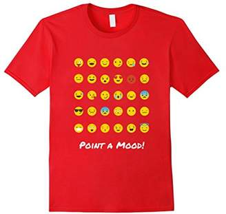 Point your mood Emoji T Shirt for Girls