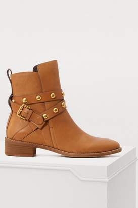 See by Chloe Janis ankle boots