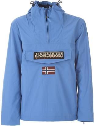 Napapijri Light Blue Rainforest Summer Jacket