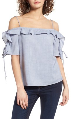 Women's Wayf Rory Off-The-Shoulder Top $62 thestylecure.com