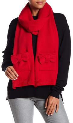 Kate Spade Bow Detailed Scarf