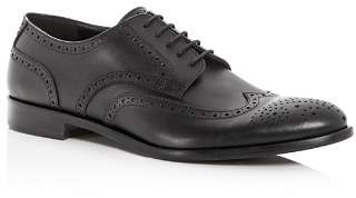Giorgio Armani Men's Leather Brogue Wingtip Oxfords