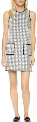 4.collective Peggie Houndstooth-Shift Dress