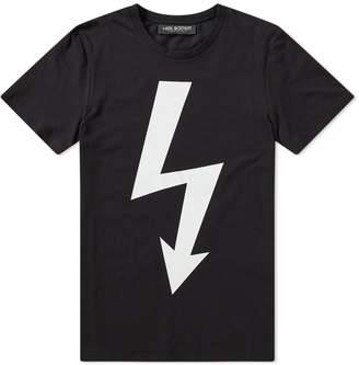 Neil Barrett Large Lightning Bolt Tee